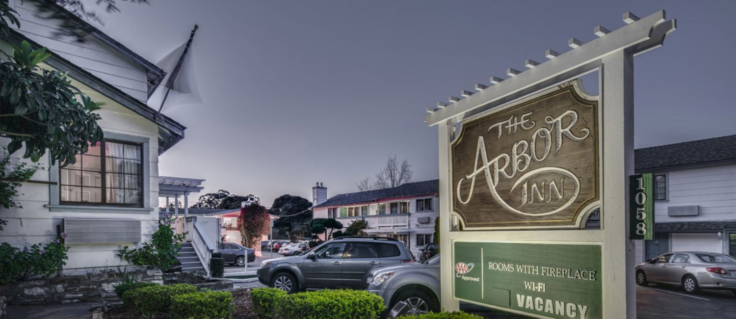 Monterey Ca Hotel The Arbor Inn Near Cannery Row